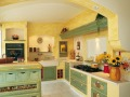pareti cucina provenzali