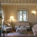 pareti soggiorno provenzali