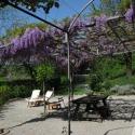 pergole e gazebo giardino provenzali