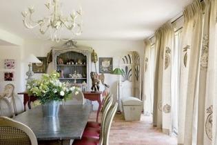 Tende soggiorno provenzali