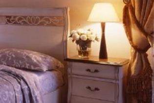 Illuminazione camera da letto provenzale