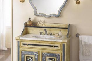 Lavabo bagno provenzale