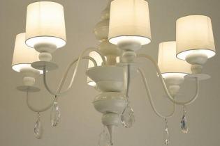 Illuminazione soggiorno provenzale