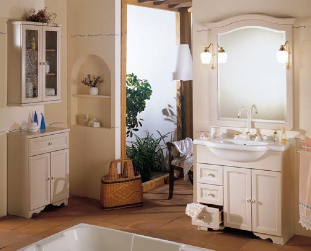 Bagno provenzale come arredarlo al meglio - Mobile bagno provenzale ...