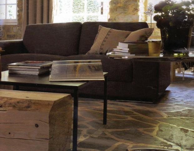 Pavimenti soggiorno provenzali: materiali e colori