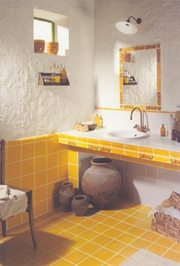 Pavimenti bagno provenzali: materiali e colori più adatti