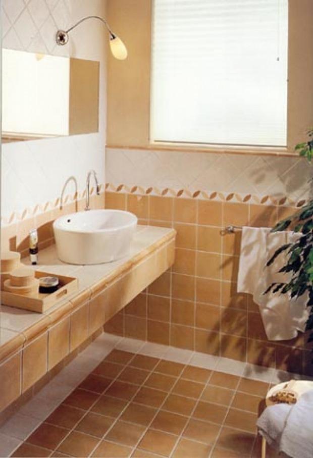 Molto Pavimenti bagno provenzali: materiali e colori più adatti ND41