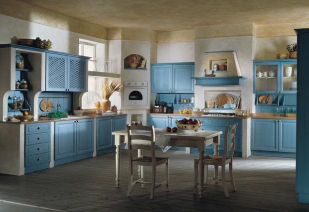 Mobili cucina provenzali mobili base pensili e credenze - Cucine provenzali moderne ...