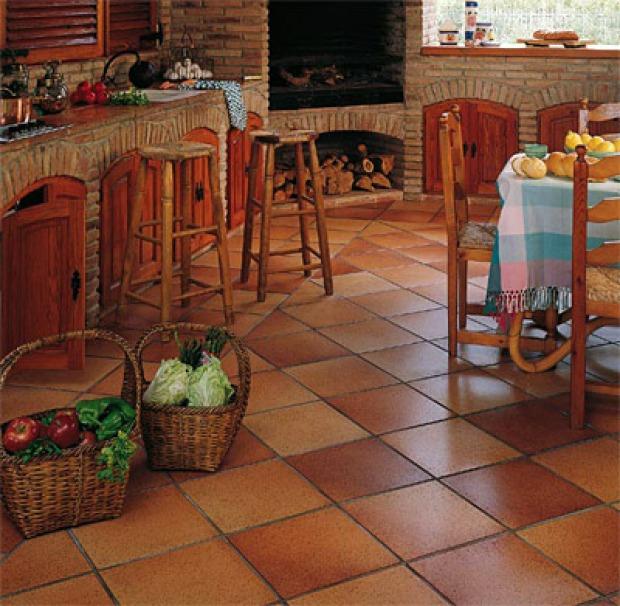 Pavimenti per cucine provenzali: materiali e colori giusti