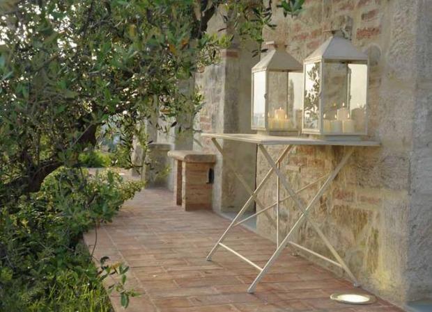 Tavolo In Ferro Battuto Per Esterno : Tavoli giardino provenzali legno rattan e ferro battuto