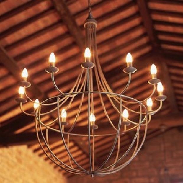 Lampadari Provenzali Ferro Battuto.Illuminazione Provenzale Come Creare La Giusta Atmosfera