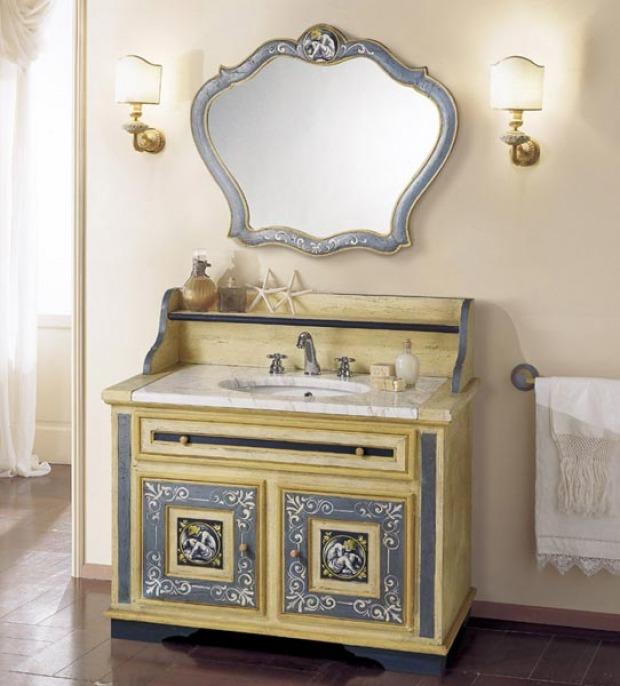 Lavabo bagno provenzale caratteristiche e peculiarit - Mobili bagno provenzali ...