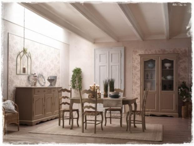 Soggiorno provenzale mobili pareti e pavimenti for Finestre per case in stile artigiano